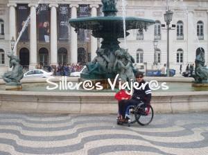 De paseo por Lisboa con silla de ruedas