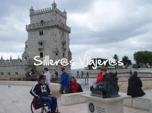 Torre de Belem en silla de ruedas