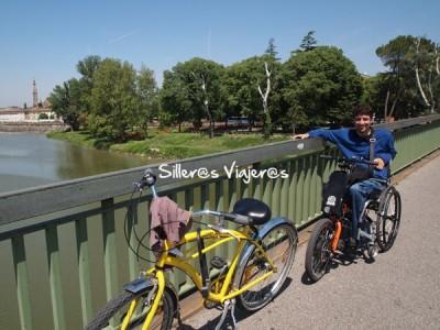 Paseo por Florencia con el Batec y la bici de alquiler