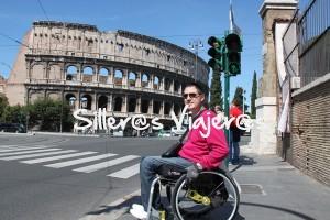 Llegamos al Coliseo