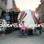 Final Europa Ligue en silla de ruedas