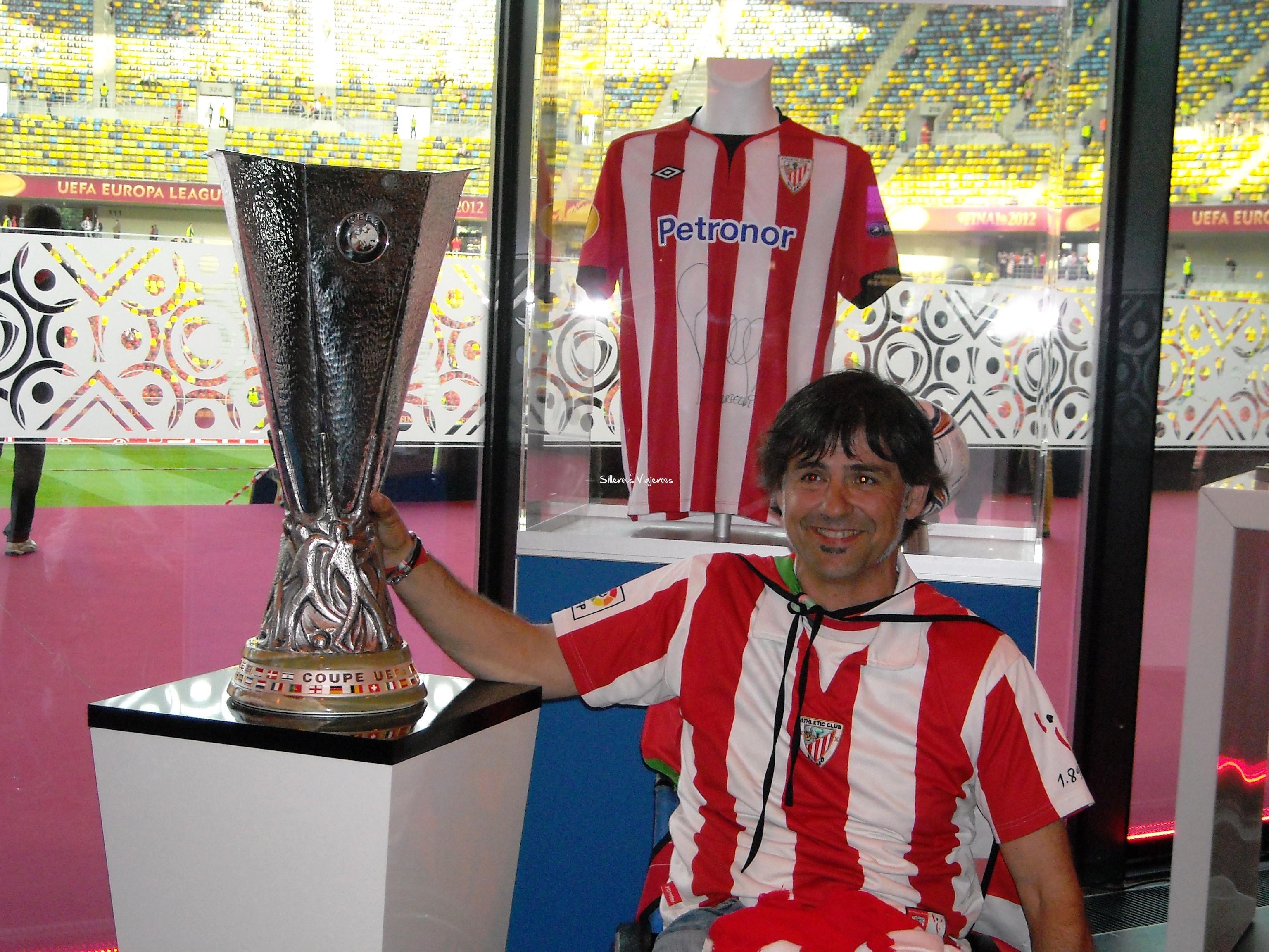 Con la Copa a mano