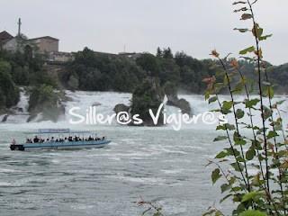 Vista de las cataratas del Rhin