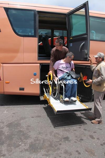 Autobús adaptado para silleros