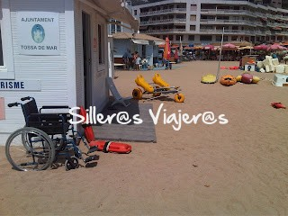 Playa accesible en Tossa de Mar