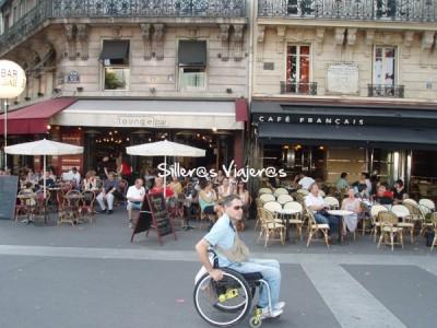 El ambiente de las terrazas de París