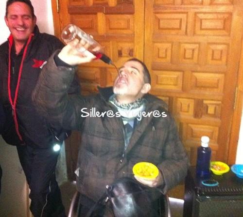 A beber al alto