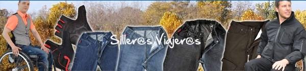 Diferentes modelos y colores de pantalones para silleros