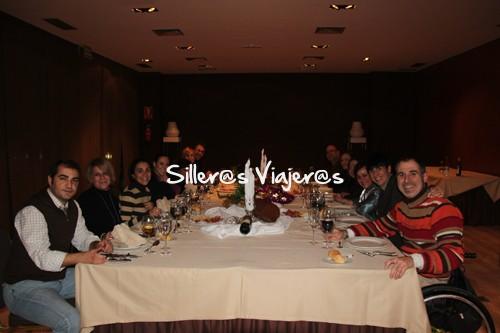 Cena en el hotel Maciá Real de la Alhambra