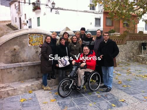 Silleros en Granada