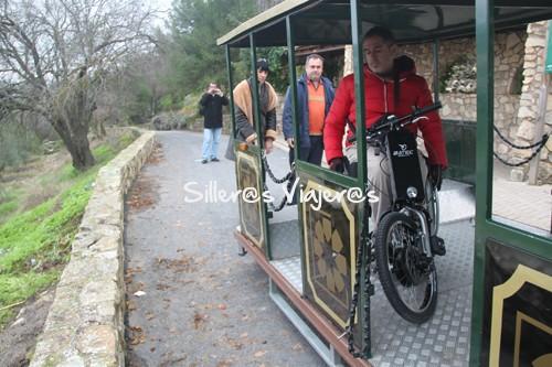 Trenecillo turístico accesible