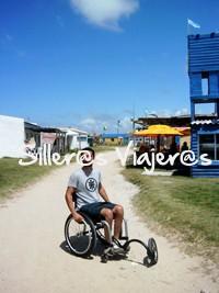 Cabo Polonio con silla de ruedas