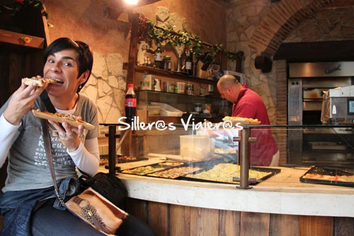 "Genial sitio para comer en la calle ""Vía Stefano Porcari"""