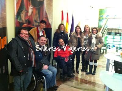 Empezamos la jornada de Turismo Accesible en Palencia