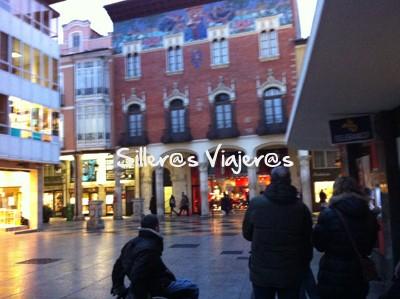 Calles bastante llanas en Palencia