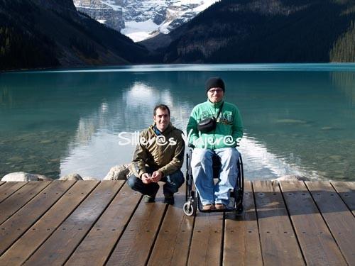 Parque Nacional de Yoho y Banff con camino accesible