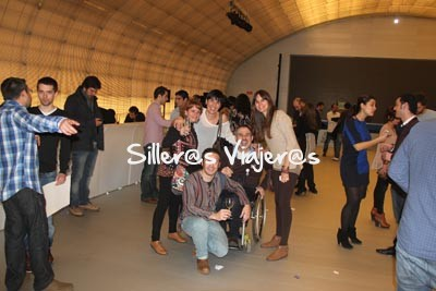 Con los finalistas al Mejor Blog de Viajes 2012