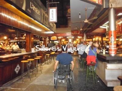 Cafetería accesible en Montevideo
