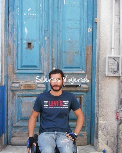 Sillero viajero en Montevideo