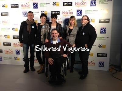 Entrega de premios en Madrid