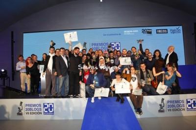 foto grupo premios 20 blogs