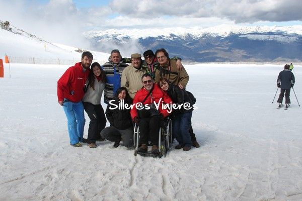 foto grupo nieve