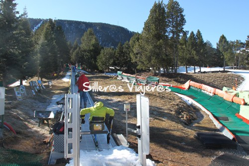 Esquí adaptado de La Molina