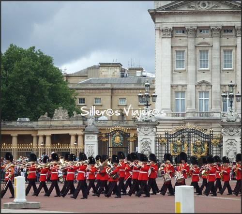 Cambio de guardia del Palacio de Buckingham
