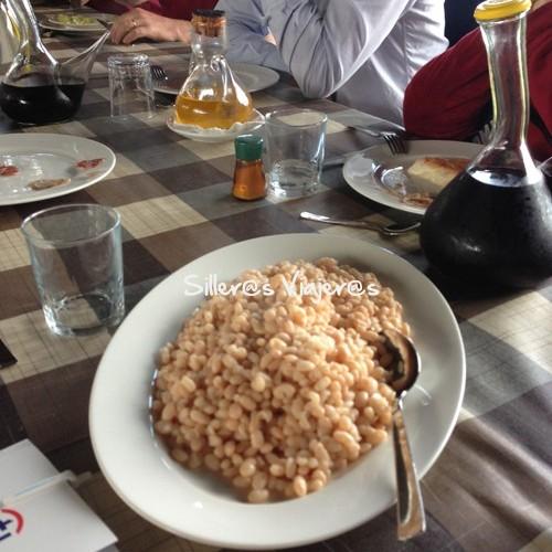 Almuerzo típico de la Garrotxa