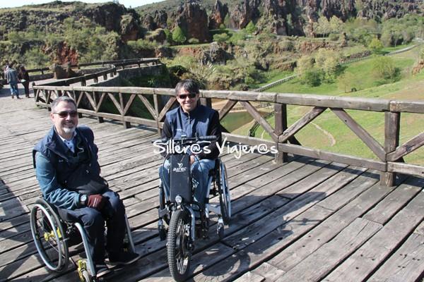 Paseo accesible en el Parque