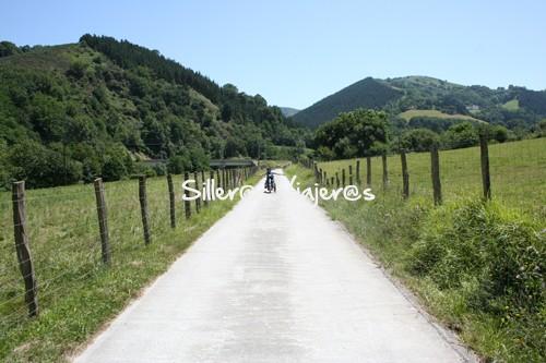 Vía verde del Bidasoa accesible