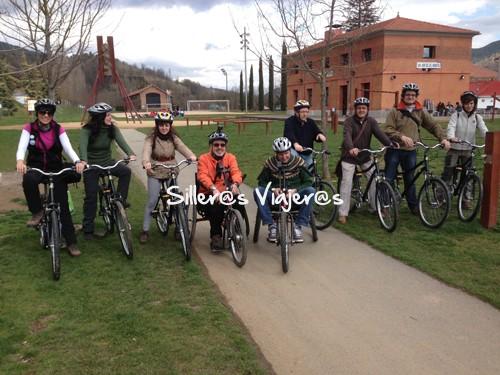 Ruta en bici y en handbikes