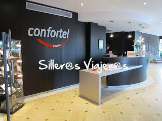 Recepción del Hotel Caleta Park
