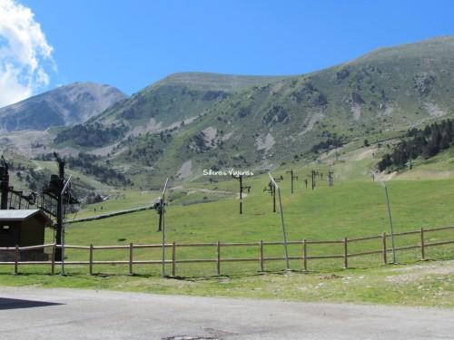Vallter 2000, estación de esquí en verano