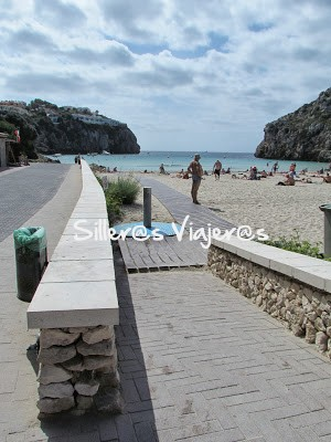 Playa con acceso accesible