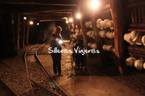 Galería subterránea de la mina de 1km en el Museo