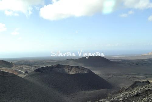 Cráteres en Timanfaya