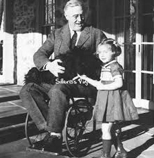 Roosevelt, un presidente en silla de ruedas
