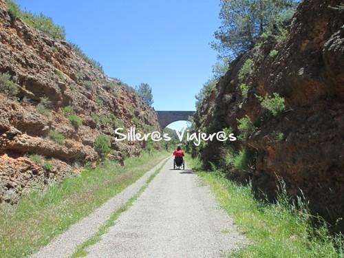 Camino accesible en el descenso del Puerto del Ragudo
