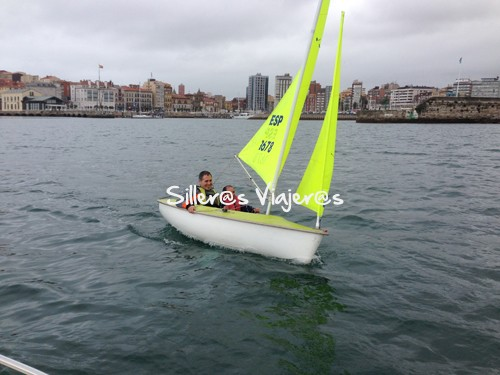Vela adaptada en Gijón