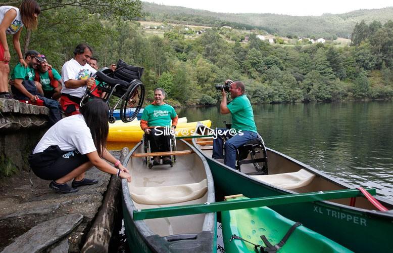 Ruta en canoa accesible