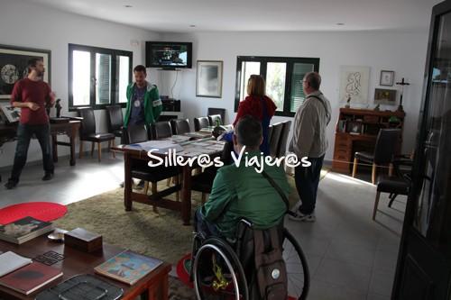 """Visitando """"La casa de José Saramago"""""""