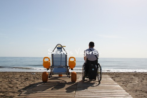Playa accesible en Lanzarote