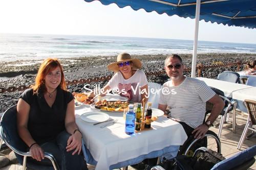 COmida a primera línea de costa en Restaurante Costa Azul