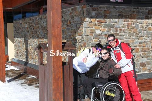 Preparados para esquiar con Martín
