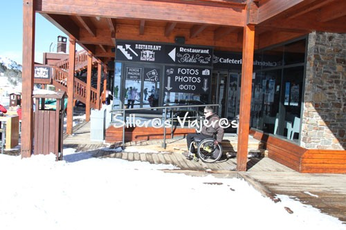 Bar accesible mediante rampa en Grand Valira