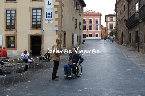 Calles bien accesibles de Gijón