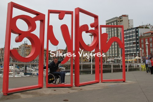 Silleros viajeros en Gijón