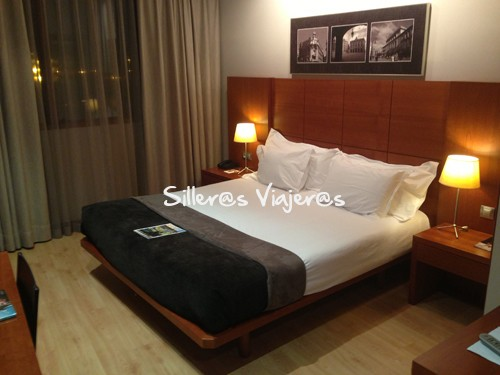 Habitación del hotel Silken Ciudad Gijón