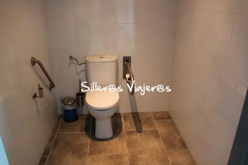 baño accesible en La Jarradilla